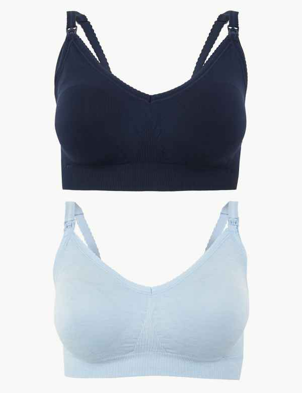 b53a2f8a8c6 Blue Bras | Navy, Royal, Turquoise & Cobalt Womens Bra| M&S