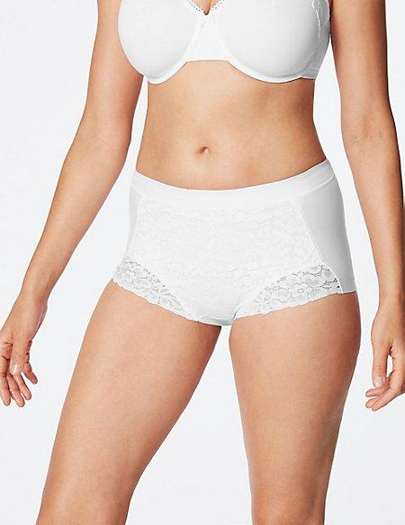 Cool Comfort™ Cotton Rich Medium Control Full Brief Knickers