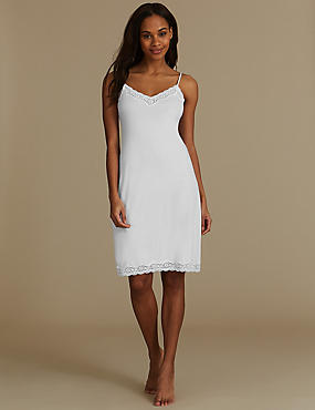 Modal Blend Vintage Lace Full Slip with Cool Comfort™ Technology