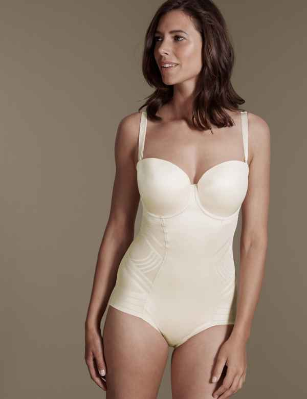 bbb6c6a1a2d20 Firm Control Magicwear™ Strapless Body B-E