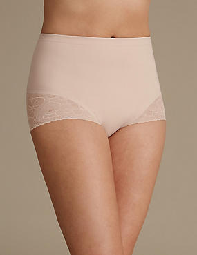 Secret Slimming™ Floral Lace Low Leg Knickers