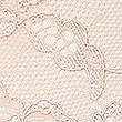 Leicht formgebender Tanga mit durchgehender Spitze ohne sichtbare Abdrücke , MANDEL, swatch
