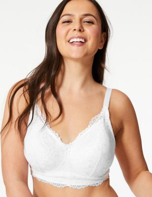 Post Surgery Louisa Lace Padded Full Cup Bra A-E