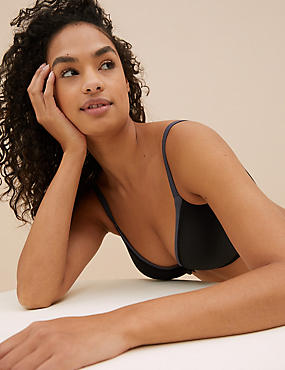 Sumptuously Soft Padded Plunge T-Shirt Bra
