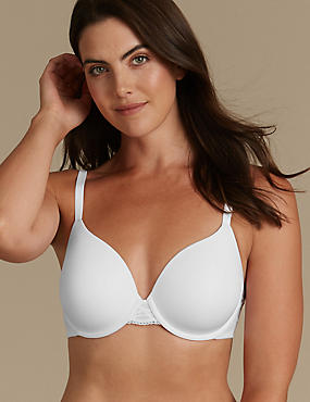 Smoothing Back Balcony T-Shirt Bra A-E