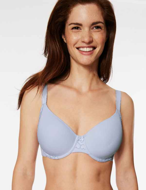 de05c8d3c1 Cool Comfort™ Cotton Rich Padded Full Cup Bra A-E