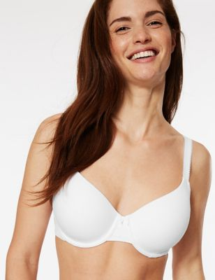Cool Comfort™ Cotton Rich Padded Full Cup Bra A-E