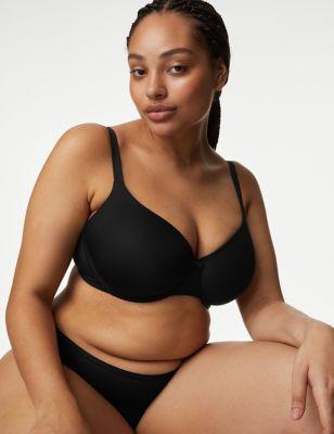 Ex Marks /& Spencer Amandes nude Seamfree tasses Plume Maille Rembourré T Shirt soutien-gorge