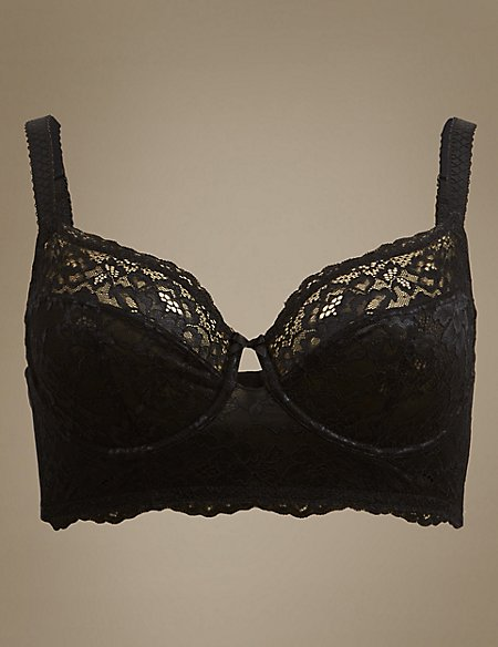 Louisa Lace Non-Padded Full Cup Bra B-DD