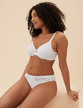 Wild Blooms Underwired Full Cup Bra A-E