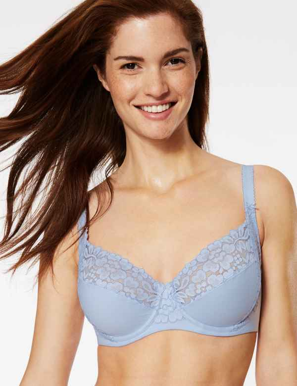 6f41466a1d5b1 Cool Comfort™ Cotton Rich Non-Padded Full Cup Bra B-E