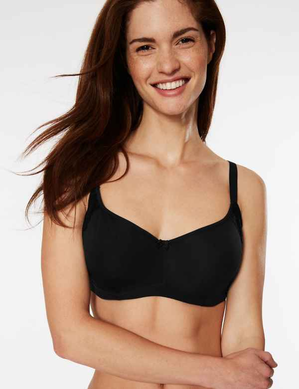 Cool Comfort™ Cotton Rich Smoothing Full Cup Bra A-E 90b2557d8