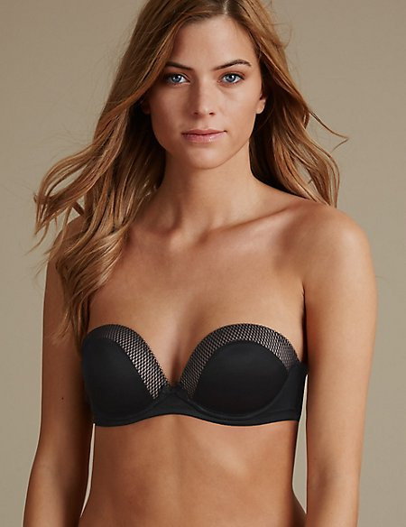 2 Pack Padded Strapless Bras A-E