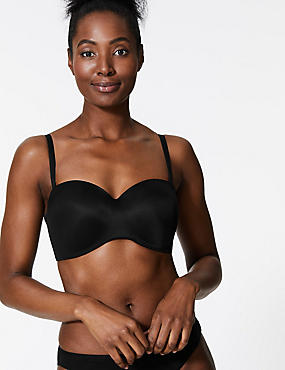 Smoothing Non-Wired Strapless Bra A-E