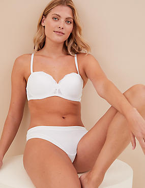 d81bec0c2b Louisa Lace Padded Strapless Bra A-E ...