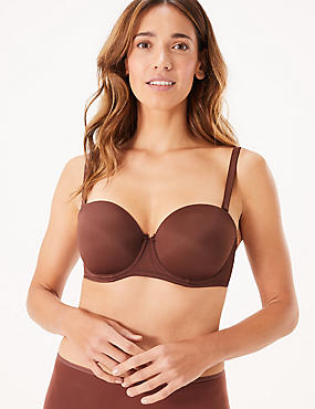 Padded Set with Strapless A-DD