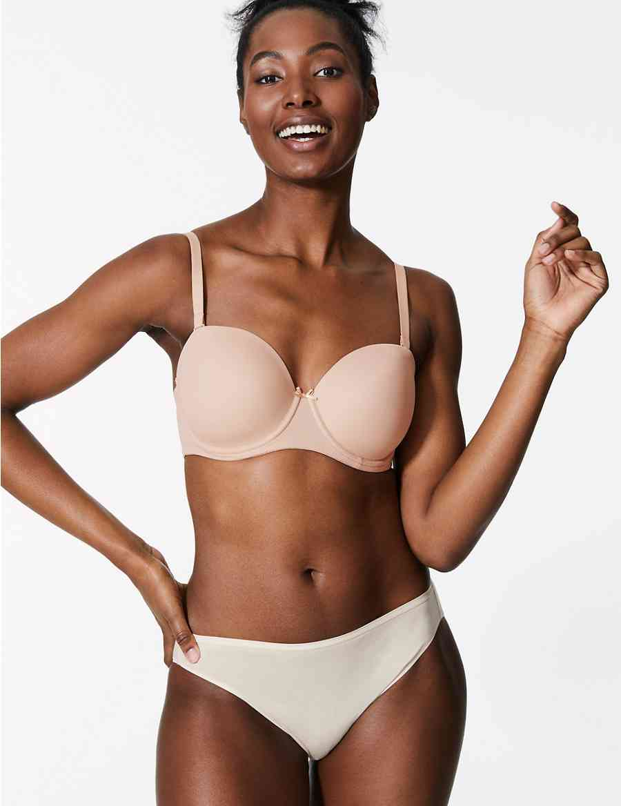 01f86ebaa3406 2 Pack Padded Multiway Bras A-D