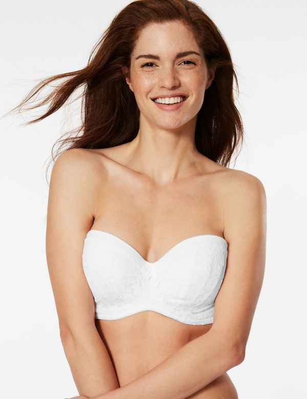 631c79303ae8d Cool Comfort™ Cotton Blend Padded Strapless Bra A-E