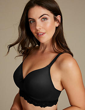 Sumptuously Soft Padded Full Cup T-Shirt Bra AA-E