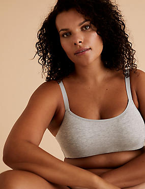 Flexifit™ Cotton Rich Full Cup Cami Bra A-G