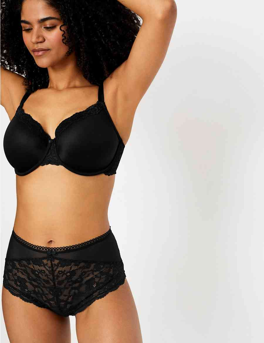 2 Pack Louisa Lace Padded Full Cup Bras DD-G  d1e8ce47c