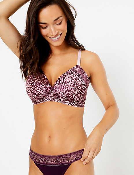 Non-Wired Full Cup Bras - 2 Pack