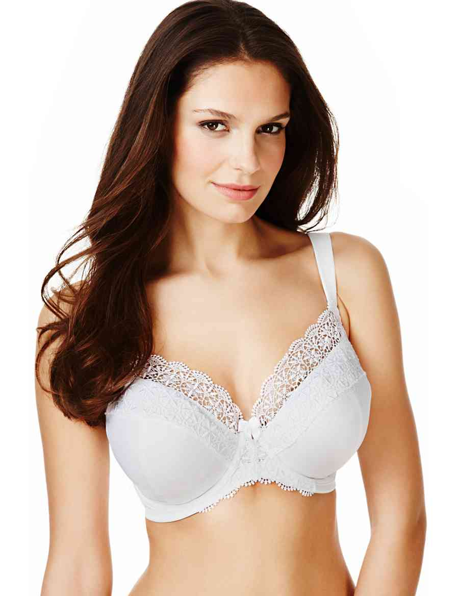 b5d61dcfa58c0 Ornate Guipure Embroidered DD-G Bra