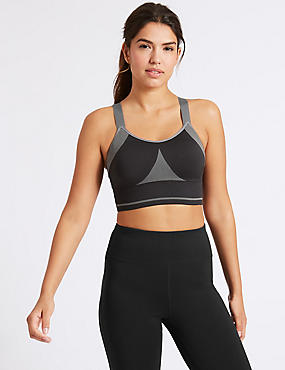 Medium Impact Santoni Non-Padded Sports Bra