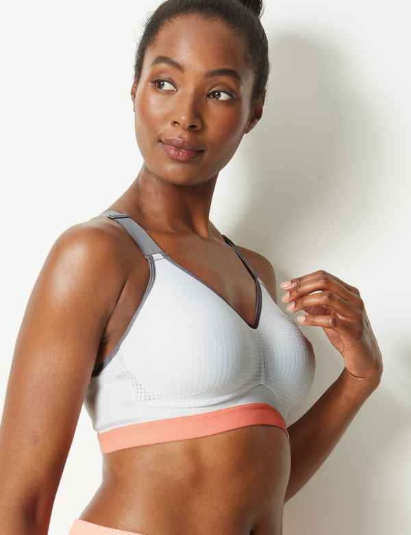 5b087c3da High Impact Padded Sports Bra