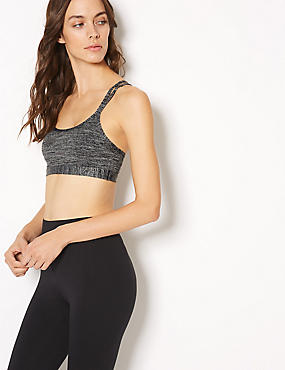 Medium Impact Non-Wired Sports Bra