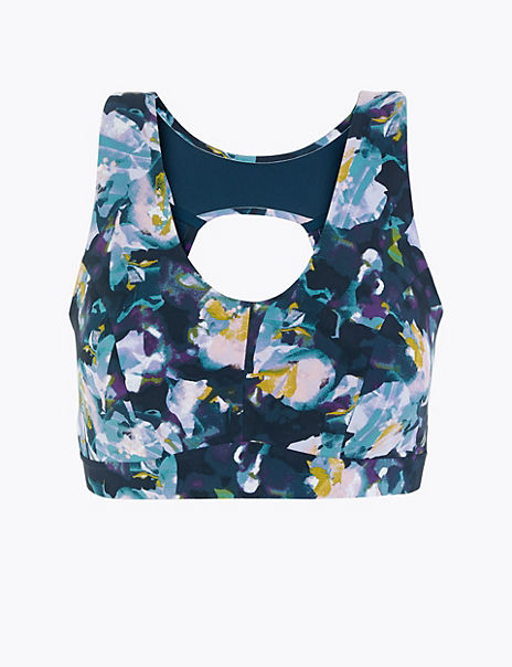 High Impact Smoothlines™ Printed Sports Bra A-E
