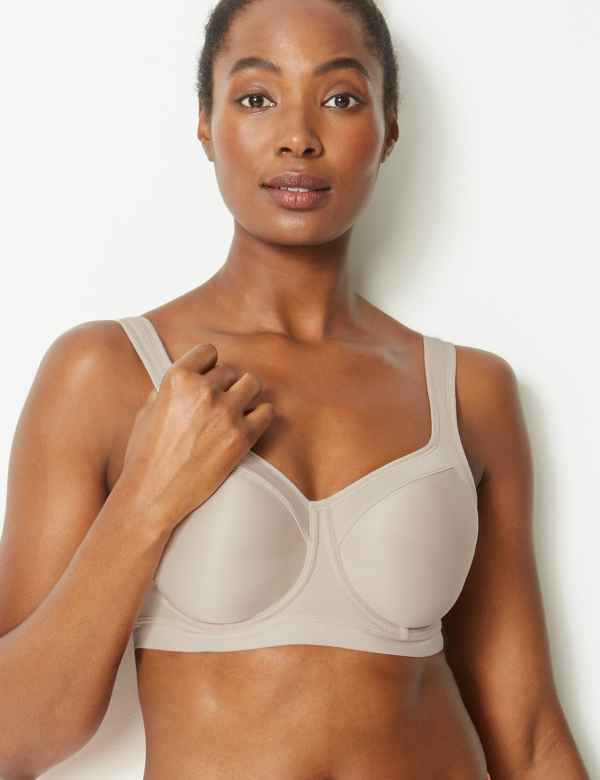 2e672ed1c Extra High Impact Non-Padded Sports Bra A-GG. New