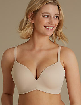 Non-Wired Padded Push-Up Bra A-DD