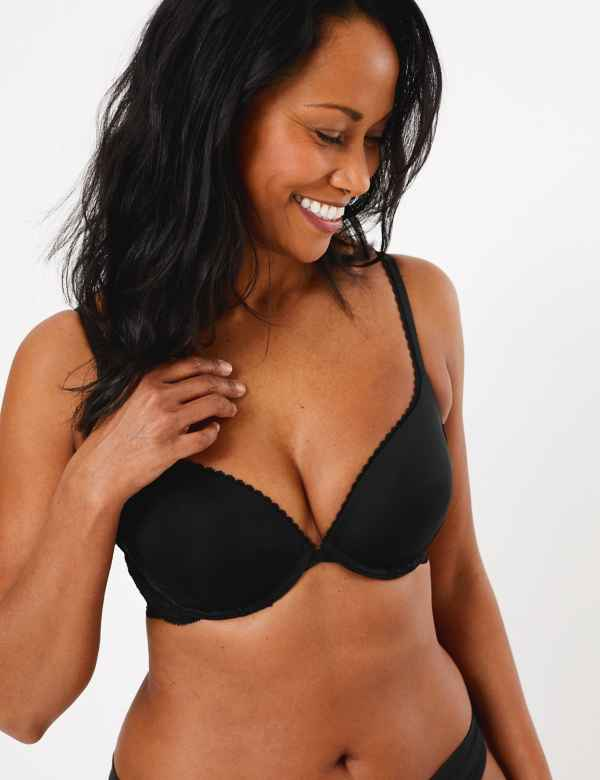 7196293eebf Perfect Fit Padded Push-up Bra AA-E