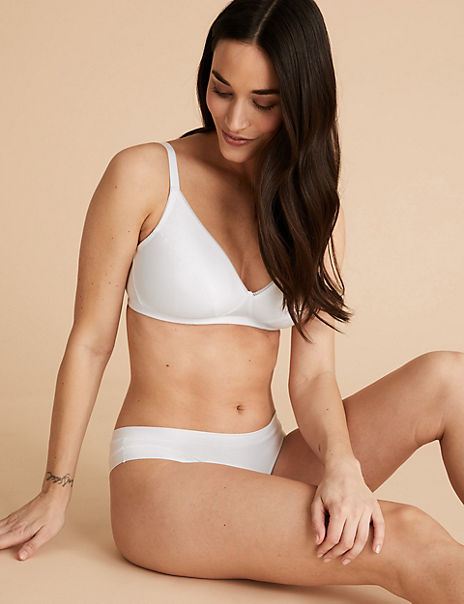 2 Pack Non Wired Full Cup Bras A-E
