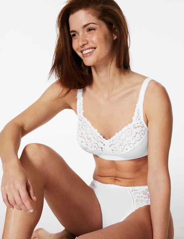 ad13a7b3a44 Cool Comfort™ Cotton Rich Non-Padded Full Cup Bra A-DD