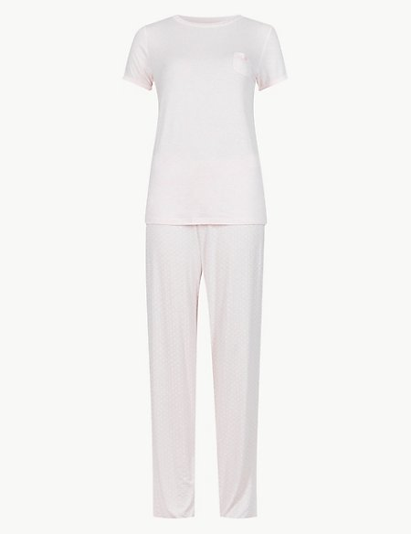 Short Sleeve Pinspot Pyjamas