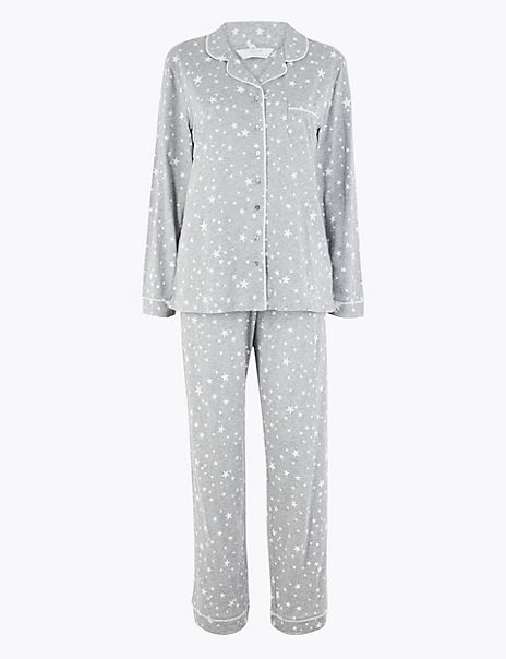 Cool Comfort™ Cotton Modal Star Pyjama Set