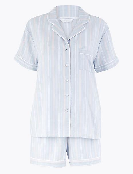 Striped Short Pyjama Set