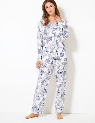 1f48d6036 Cotton Modal Cool Comfort™ Shell Pyjama Set £30.00
