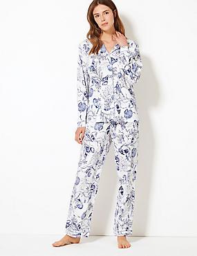 hot sale online fd8ad 544b7 Shell-Schlafanzugset aus Baumwolle und Modal mit Cool Comfort™