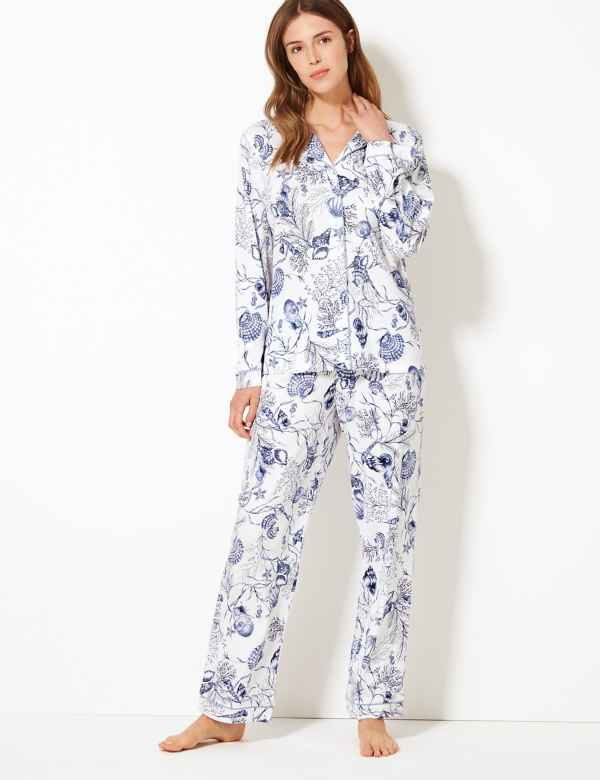 4fd5bb518c Cotton Modal Cool Comfort™ Shell Pyjama Set