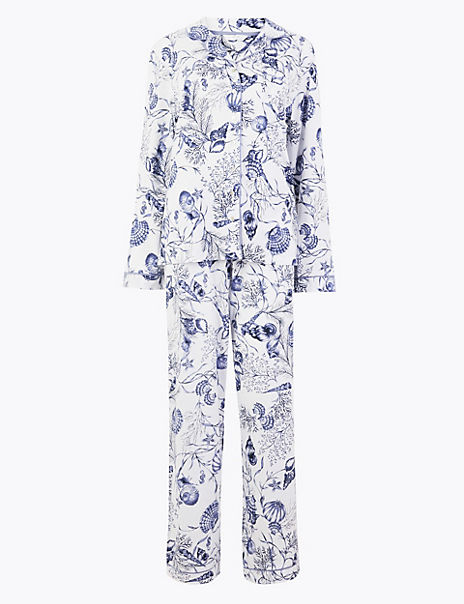Cotton Modal Cool Comfort™ Shell Pyjama Set