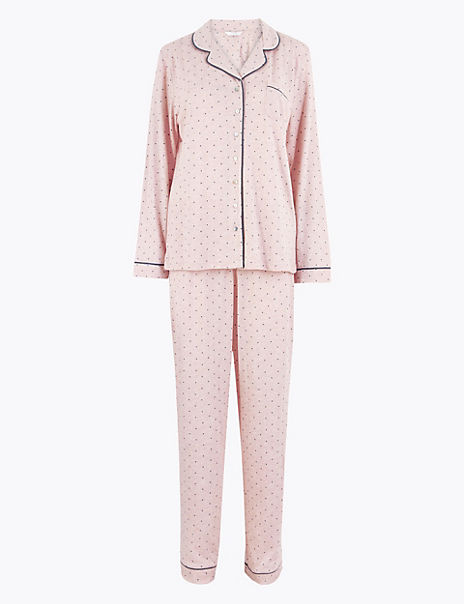 Cool Comfort™ Cotton Modal Spot Print Pyjama Set