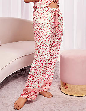 Pure Modal Ditsy Print Pyjama Bottoms