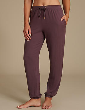 Cuffed Hem Pyjama Bottoms