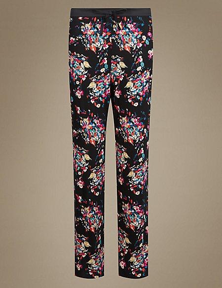 Floral Straight Leg Pyjama Bottoms