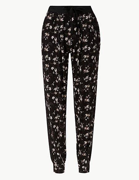 Floral Print Pyjama Bottoms