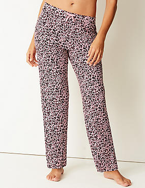 Animal Print Long Pant Pyjama Bottoms