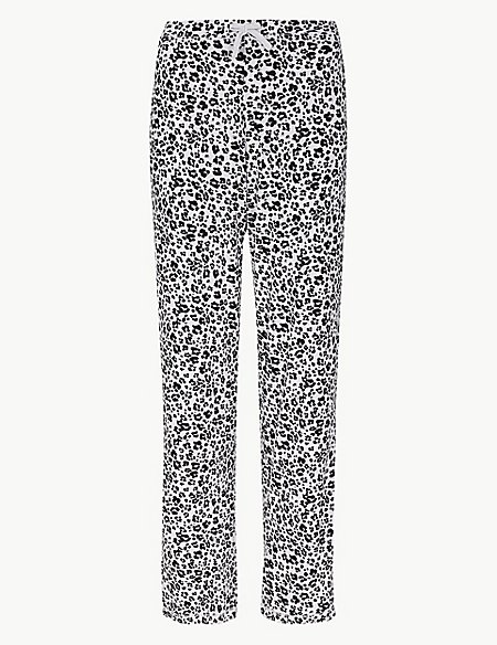 Animal Straight Leg Pyjama Bottoms